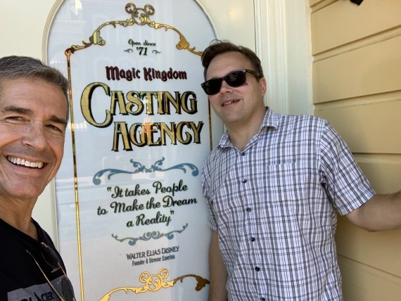 jeff noel and Jody Maberry at Disney