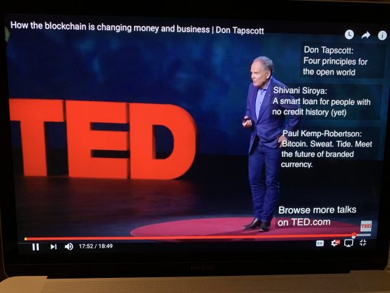 blockchain TED talk