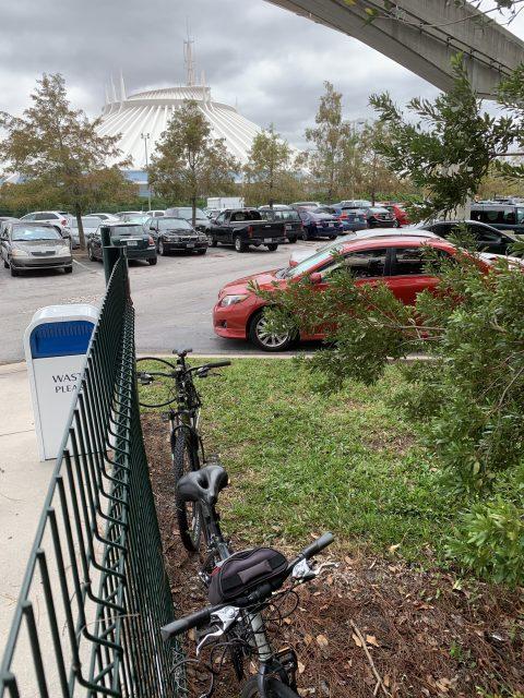 VIP Disney parking