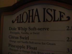 Order & Enjoy Dole Whips