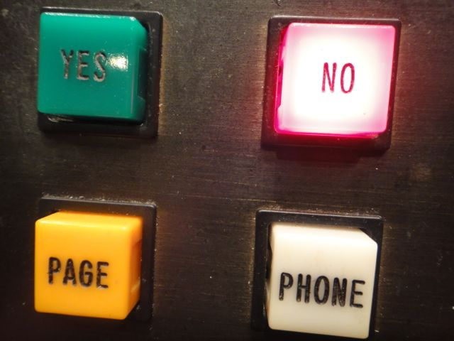 Senate voting buttons