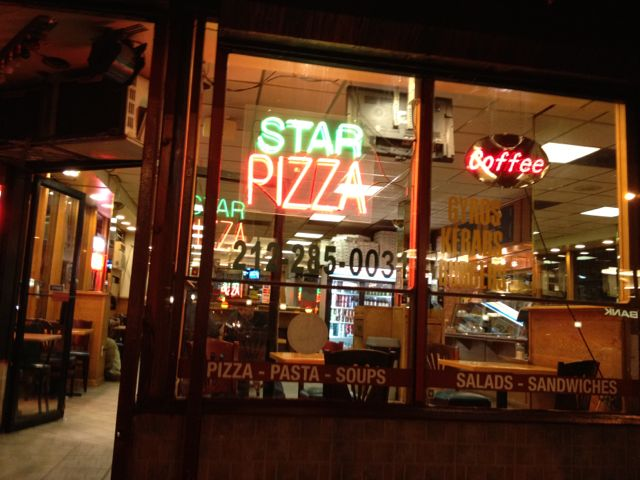 Star pizza Manhattan