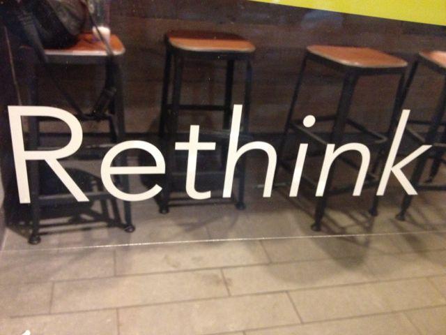 rethink work
