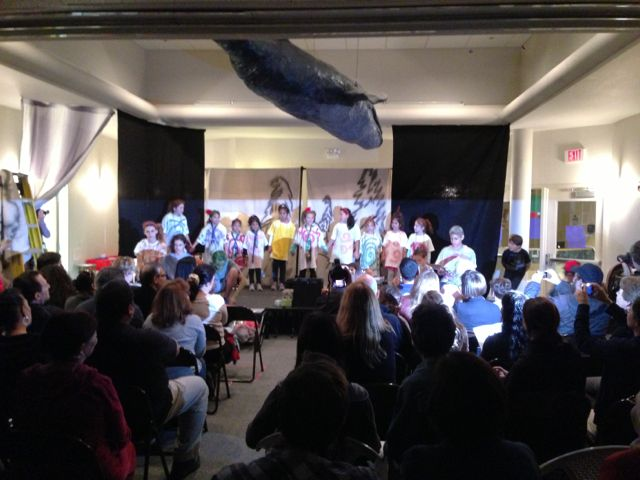photo of elementary school Christmas play