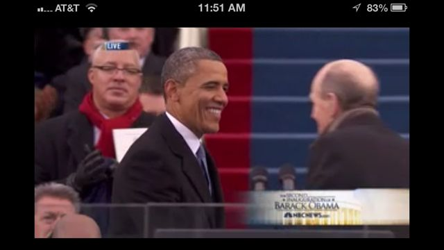 President Obama and James Taylor shaking hands
