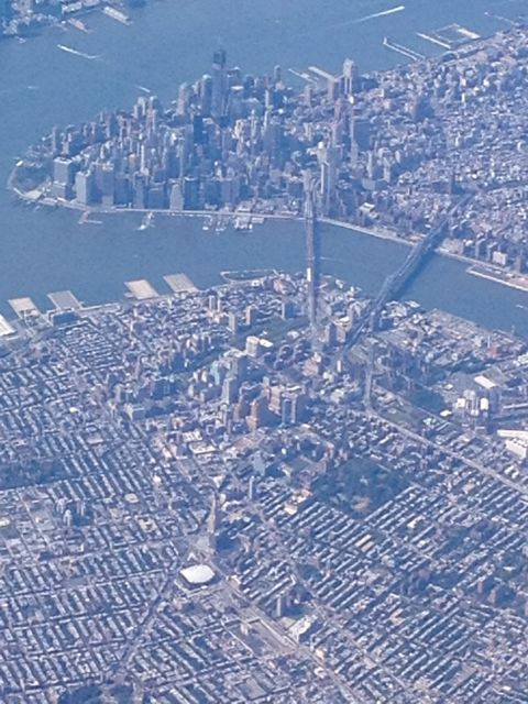 Manhattan, Brooklyn, and the Barclays Center