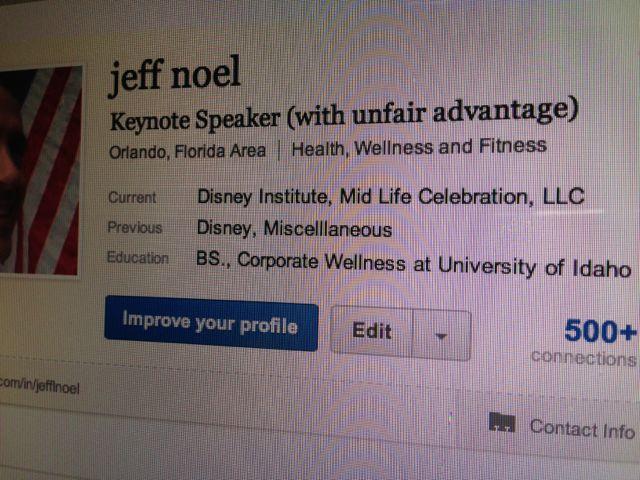 LinkedIn profile revide Oct 2012