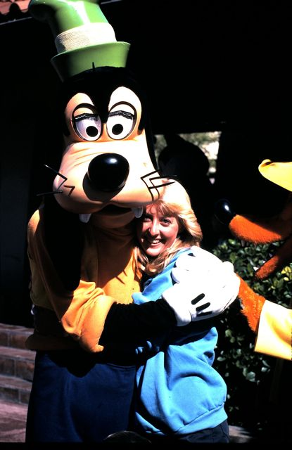 Goofy and Cheryl Noel 1984
