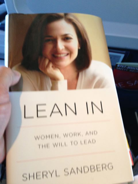 Book Lean In by Sheryl Sandberg
