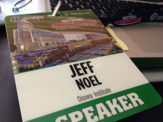 jeff noel's speaker credentials