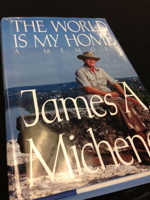 james A Michner's autobiography