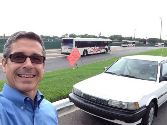jeff noel and Disney Bus transportation