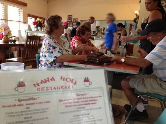 Hana Hou Restaurant in Na'alehu, Hawaii