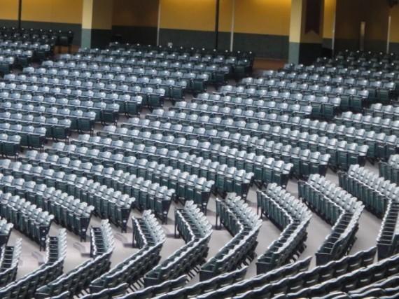 large stadium seating