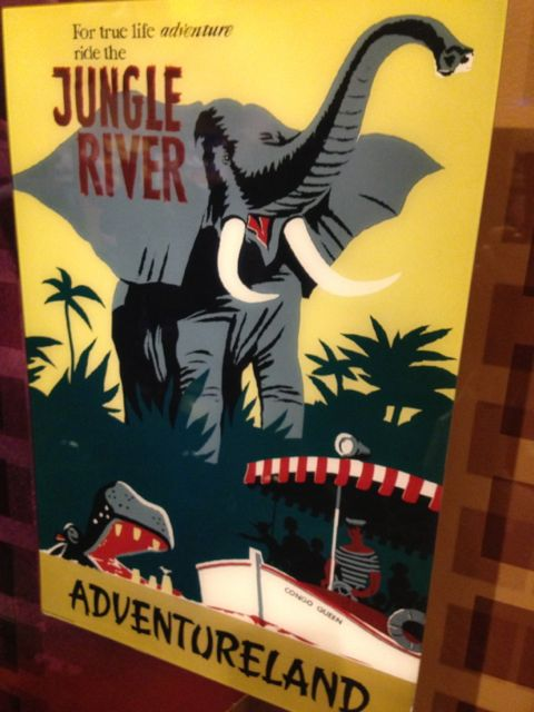 Disney's Jungle Cruise Attraction poster