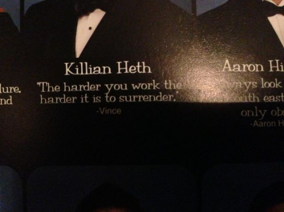 High School yearbook quotes