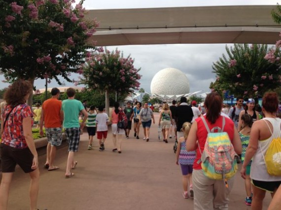 Walking through Walt's Experimental Prototype Community of Tomorrow