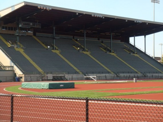 Hayward Field home grandstand