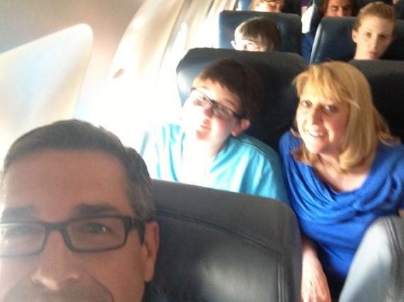 jeff noel in airplane
