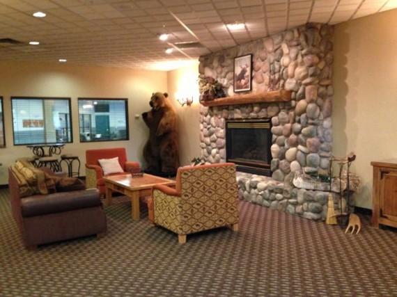Kalispell, MT hotel Lobby
