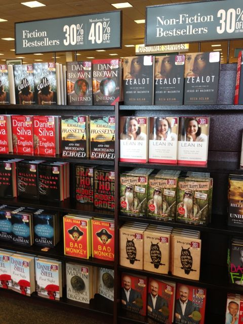 Barnes and Noble bestsellers