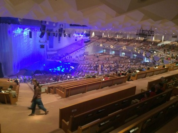 First Baptist Orlando seats 5,500