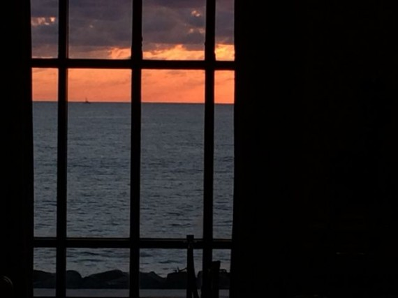 The Breakers' meeting room view at sunrise