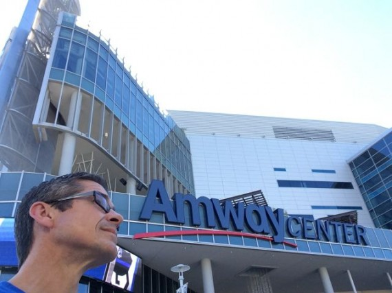 jeff noel outside Amway Center
