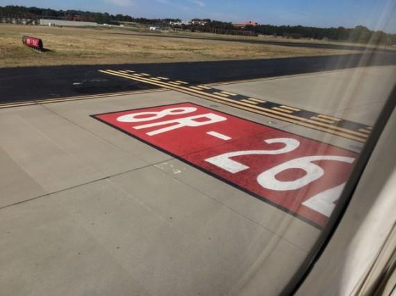 Orlando airport runway