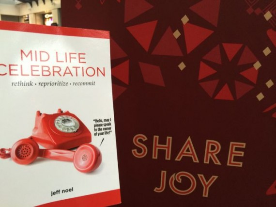 Share joy? How can we not?