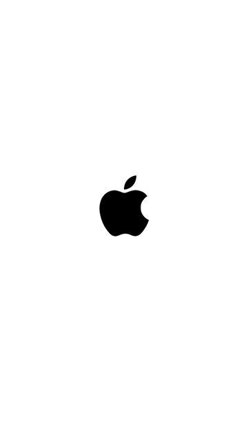iPhone screen shot of Apple logo