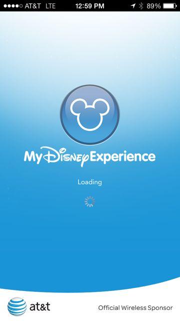 My Disney Experience - an App