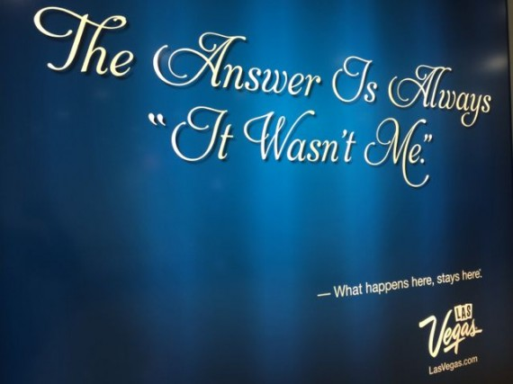 Las Vegas Slogan