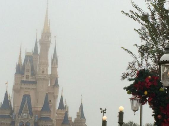 Cinderella Castle Christmas 2013