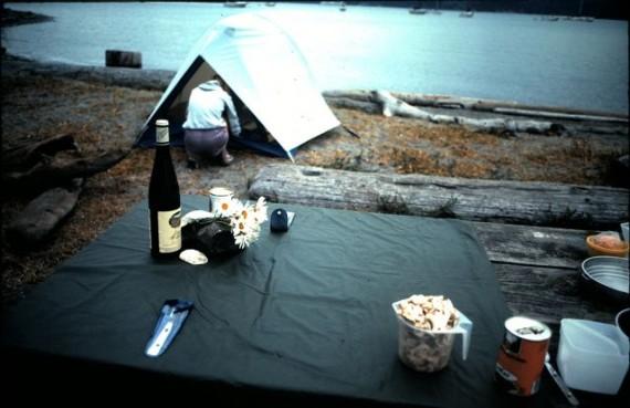 Washington State Park campsite