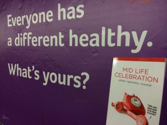 Mid Life Celebration the book