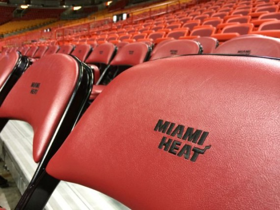 Miami Heat lower bowl seats