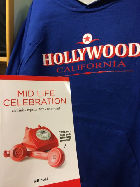 Mid Life Celebration book in