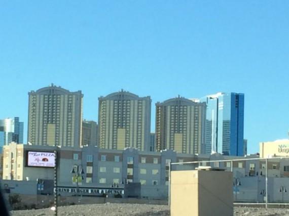 Las Vegas hotels skyline