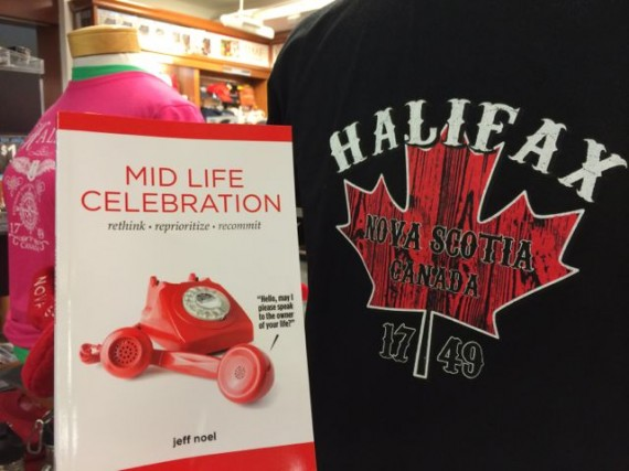 Midlife Celebration, the book in Halifax