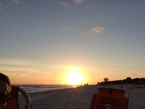 Orlando based motivational speaker jeff noel on Sanibel beach