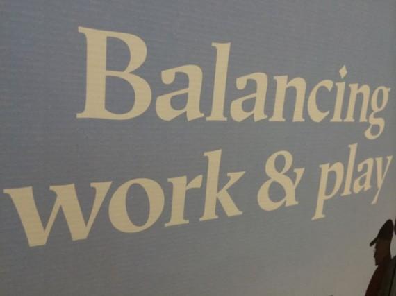 Balancing Work and play