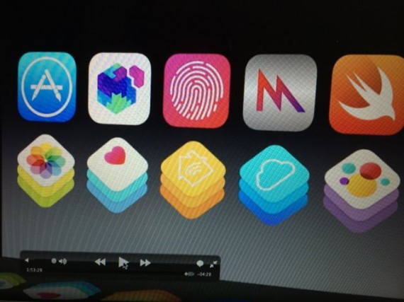 Apple apps at Dev conference
