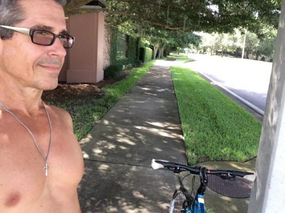 jeff noel on bike ride