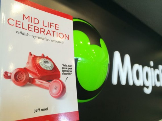 Mid Life Celebration book at Epcot