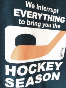 Funny Canadian Hockey tee shirt