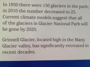 Glacier National Park fact