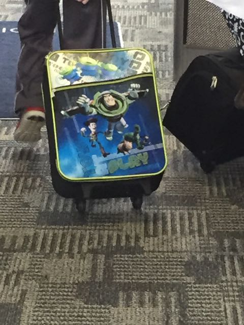 Toy Story children's luggage