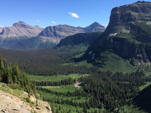Glacier National Park east side