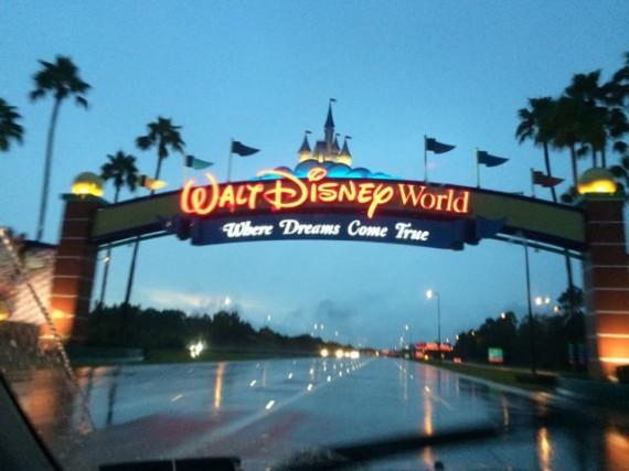 Walt Disney World main entrance